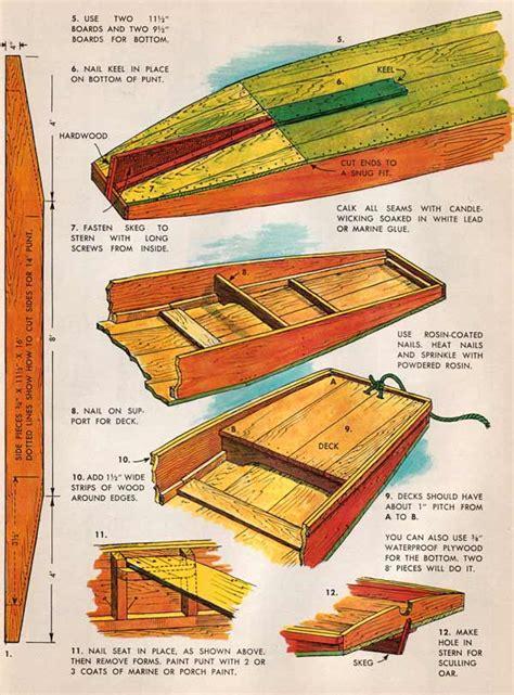 Wooden-Punt-Plans