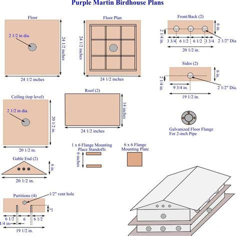 Wooden-Purple-Martin-Birdhouse-Plans