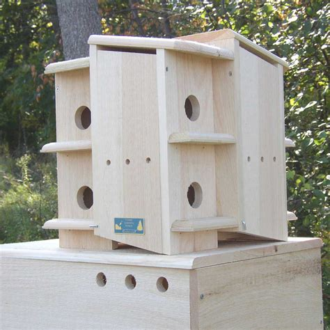 Wooden-Purple-Martin-House-Plans