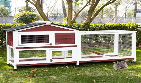 Wooden-Rabbit-Hutch-Plans