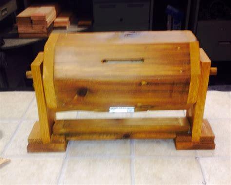 Wooden-Raffle-Drum-Plans