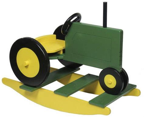 Wooden-Rocking-Tractor-Plans