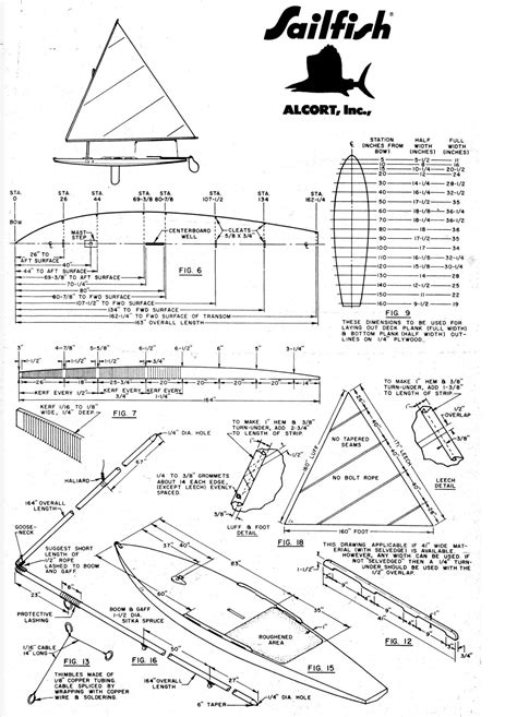 Wooden-Sailfish-Plans