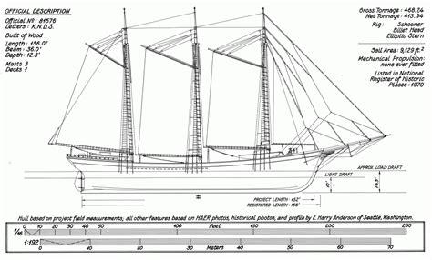 Wooden-Schooner-Plans