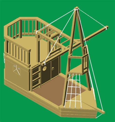 Wooden-Ship-Playground-Plans