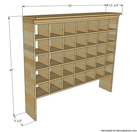 Wooden-Shoe-Cubby-Plans
