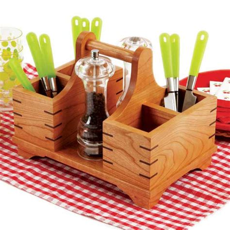 Wooden-Silverware-Caddy-Plans
