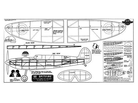 Wooden-Spitfire-Model-Plans