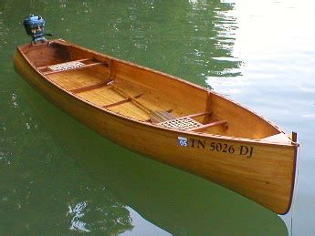 Wooden-Square-Back-Canoe-Plans