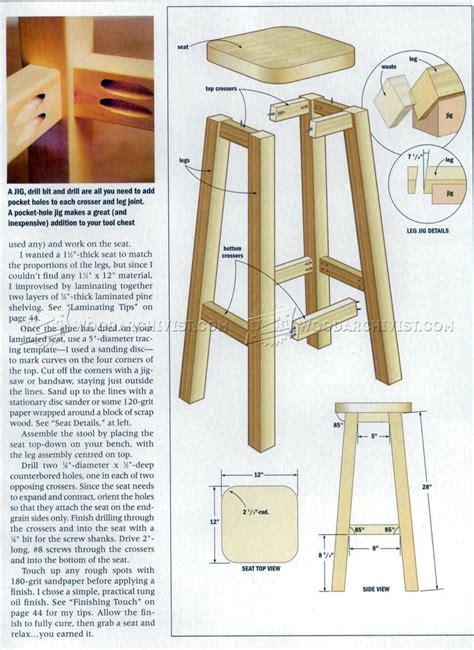 Wooden-Stool-Plans