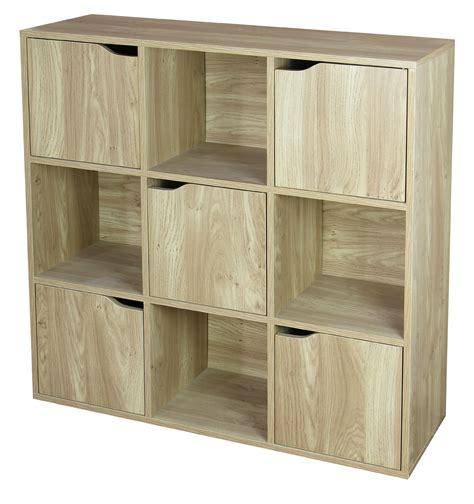 Wooden-Storage-Cube-With-Door