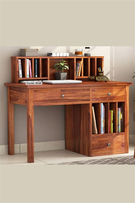Wooden-Study-Table-Plans