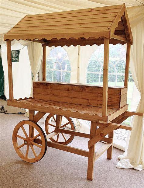 Wooden-Sweet-Cart