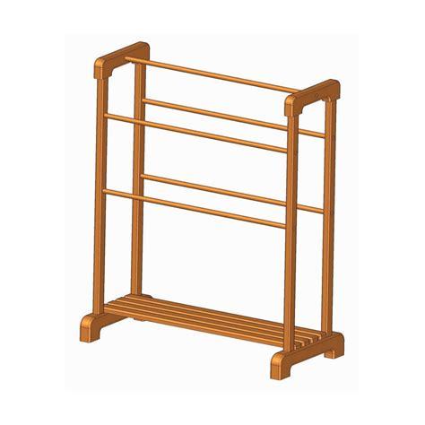 Wooden-Towel-Shelf-Plans