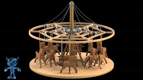Wooden-Toy-Carousel-Plans