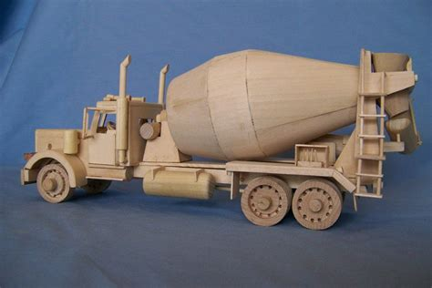 Wooden-Toy-Cement-Truck-Plans