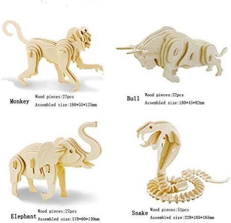 Wooden-Toy-China-Child-Animal-Assembly-3d-Kit-Diy