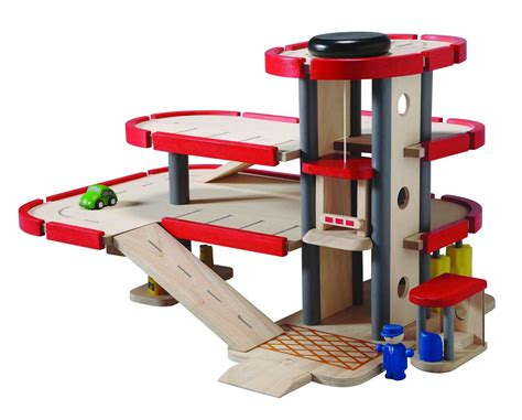 Wooden-Toy-Garage-Plans