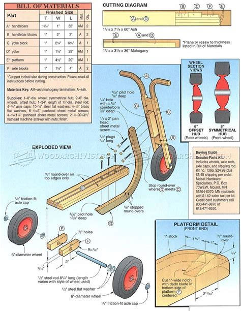 Wooden-Toy-Scooter-Plans