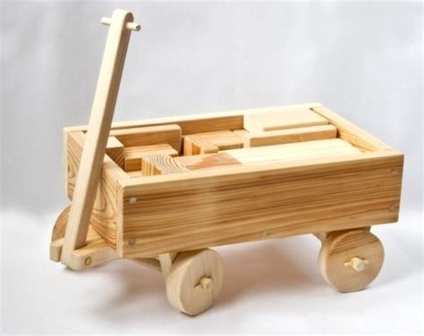 Wooden-Toy-Wagon-Plans