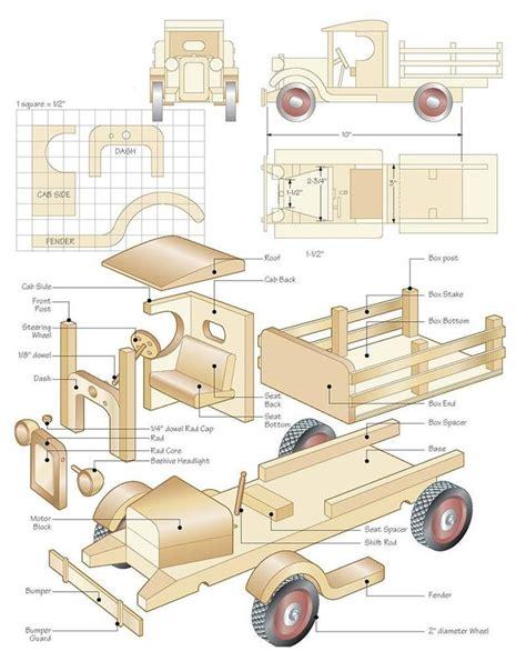 Wooden-Toys-Trucks-Plans