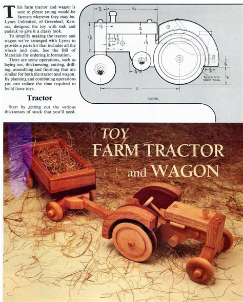 Wooden-Tractor-Plans-Free