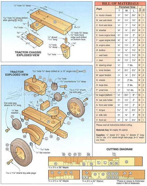 Wooden-Tractors-Plans