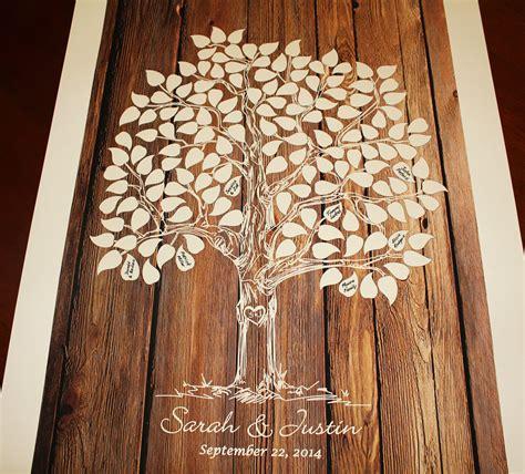 Wooden-Tree-Guest-Book-Diy