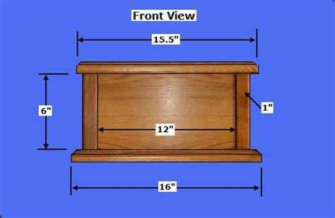 Wooden-Urn-Plans