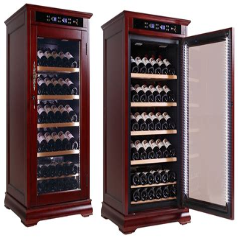 Wooden-Wine-Cooler-Cabinet