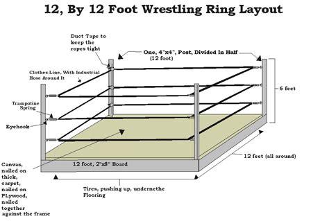 Wooden-Wrestling-Ring-Plans