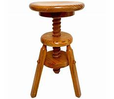 Best Wooden adjustable footstool