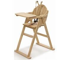 Best Wooden baby high chair designs