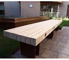 Best Wooden bench exeter