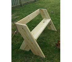 Best Wooden bench patterns free