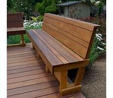 Best Wooden bench plans outdoor