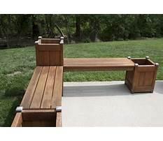 Best Wooden bench planters