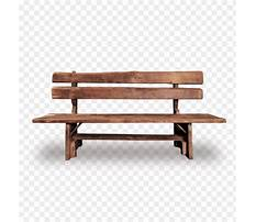 Best Wooden bench png