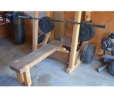 Best Wooden bench press