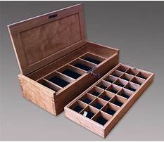 Best Wooden box plans small