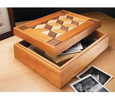 Best Wooden box projects plans