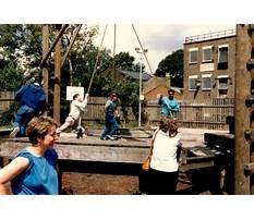 Best Wooden bridge adventure playground crouch hill