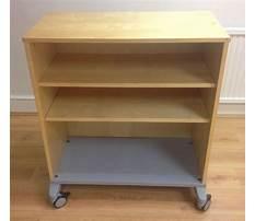 Best Wooden cabinets on wheels