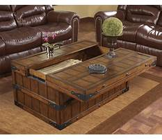 Best Wooden chest coffee tables