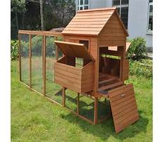 Best Wooden chicken coop and run