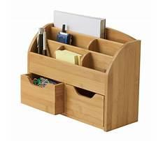 Best Wooden desk organizer