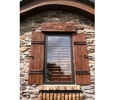 Best Wooden exterior shutters.aspx