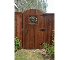 Best Wooden fence gate