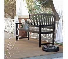 Best Wooden front porch benches