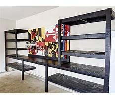 Best Wooden garage shelves.aspx